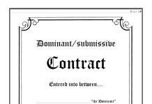 slavekontrakt billede