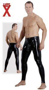 latex bukser til mænd med påspændingsdildo og strap on