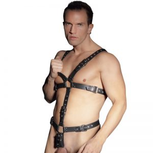 Læder harness