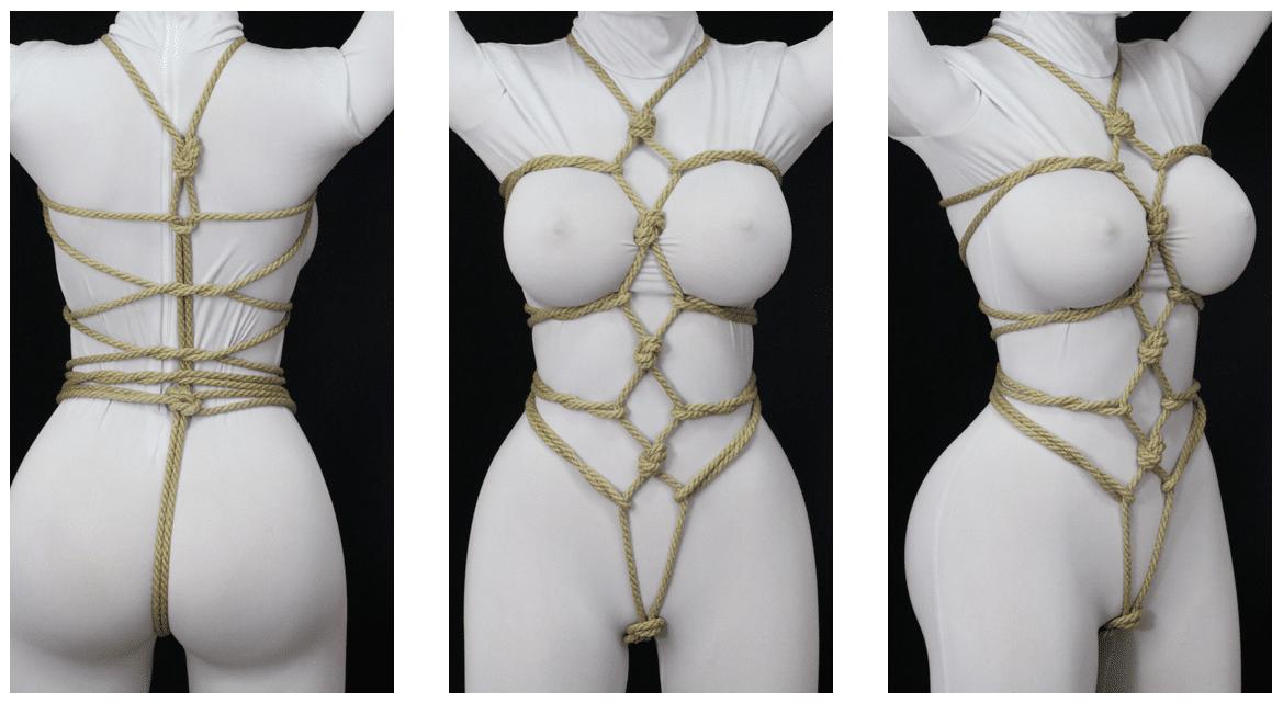 bryst bondage