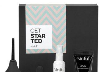 Sinful Get Started Anal Begynder Boks med A-Z Guide
