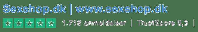 Sexshop.dk trustpilot anmeldelse