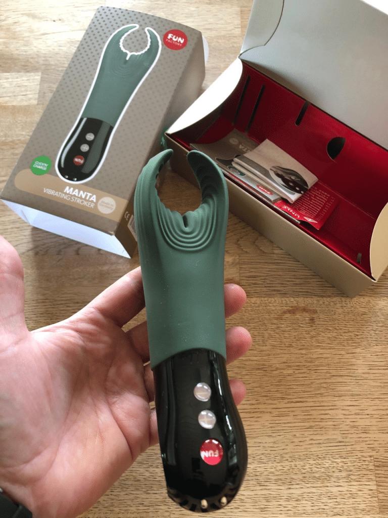 Manta fun factory penis vibrator