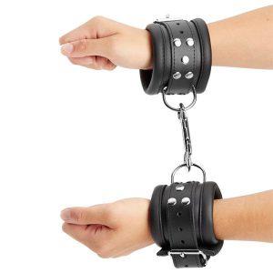 SToys Håndleds Manchetter Læder