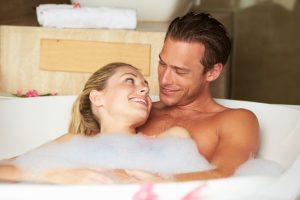 Sex i badekar