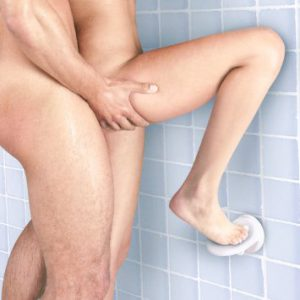 Sex stillinger i badet