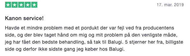 Belugi.dk kampagnekode