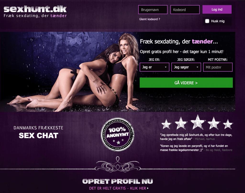 Sexhunt dk test