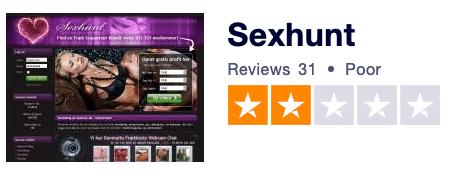 sexhunt trustpilot