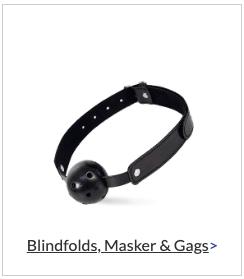blindfolds masker og gagballs