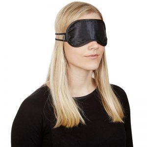 erotisk satin blindfold