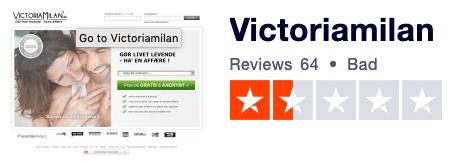victoria milan trustpilot