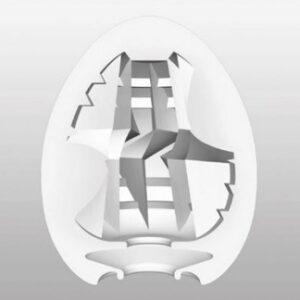 TENGA Egg Thunder Onani Håndjob til Mænd - Indvendig