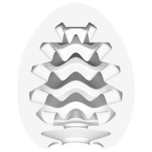 TENGA Egg Wavy Cool Edition Onani Håndjob til Mænd - Indvendig