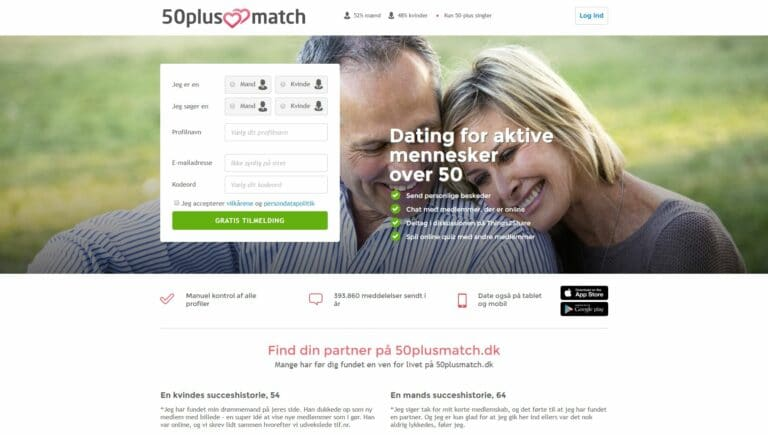 50plus senior dating
