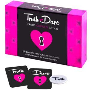 truth or dare erotisk spil til par gave