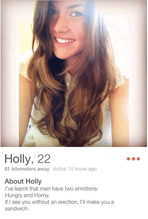 profiltekst dating