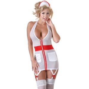 cottelli nurse uniform with suspender sex kostumer
