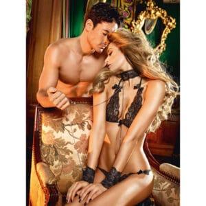 dreams by baci lace love slave set sex kostumer