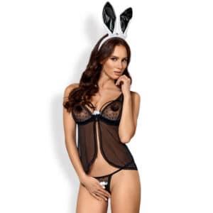 obsessive black bunny kostume sex kostumer