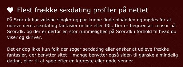 Scor dk hjemmeside 2