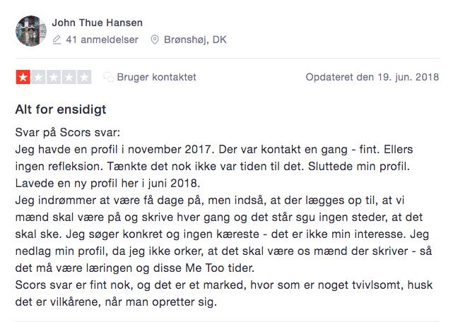 Scor dk anmeldelse 2