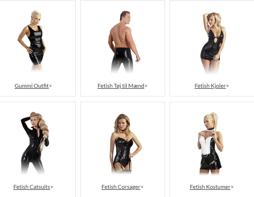 fetish sex tøj