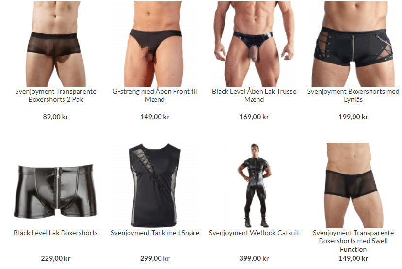 fetish sex tøj til mænd
