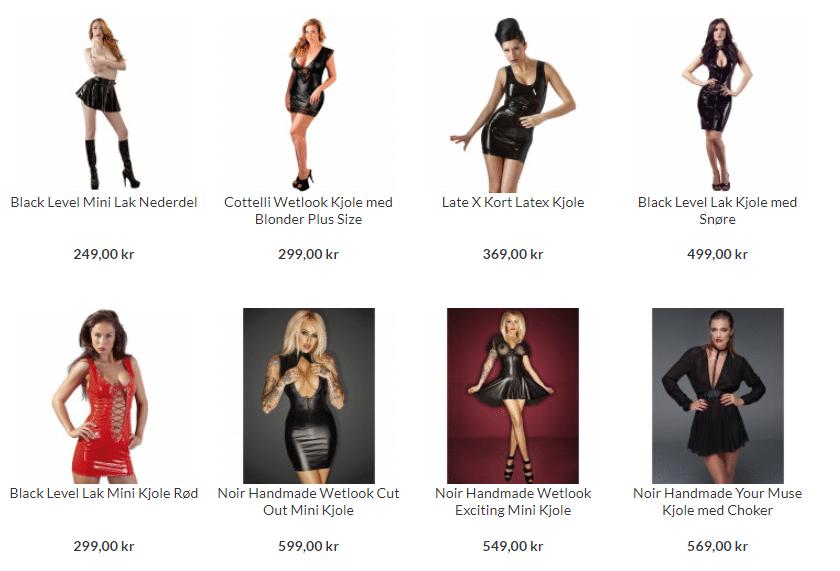 fetish kjoler itl kvinder