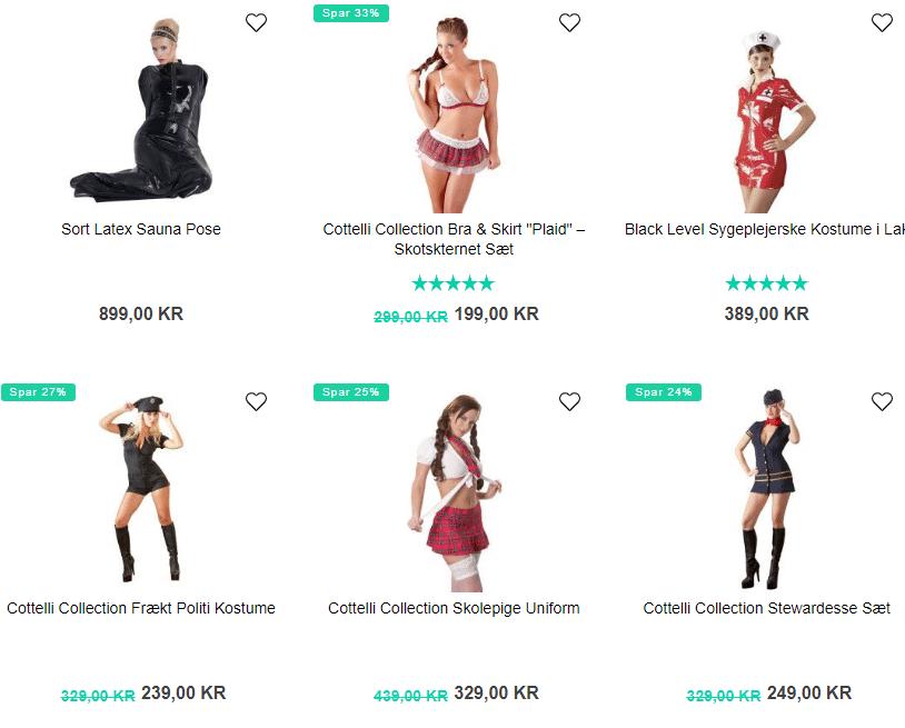 fetish kostumer til BDSM