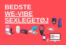 Bedste we-vibe sexlgetøj vibratorer og penisringe samt trådløse vibratorer på app