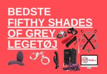 bedste fifthy shades of grey sexlegetøj og bondage