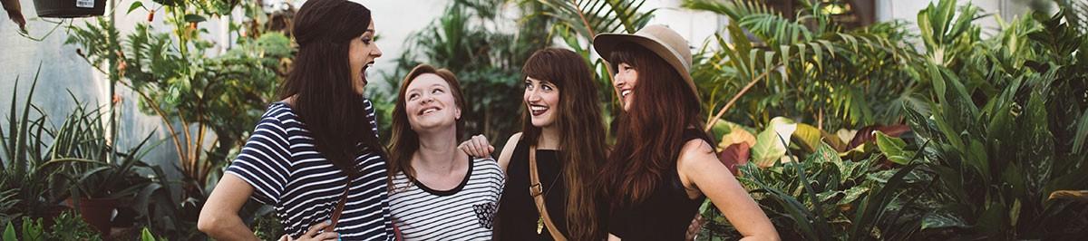 women sharing their pegging stories