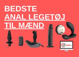 bedste anal sexlegetøj til mænd