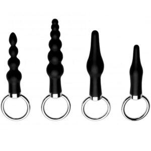 master series ringed rimmers anal plug sæt