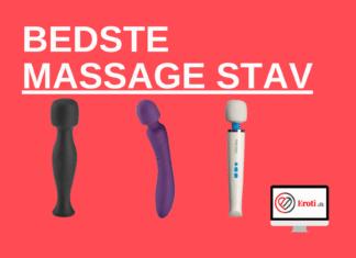 Bedste massage stav