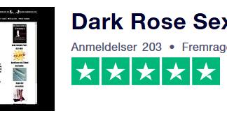 DARKROSE.DK TRUSTPILOT ANMELDELSER