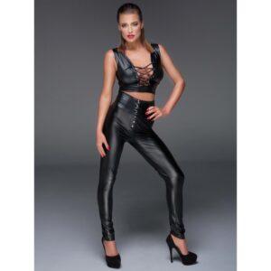 noir handmade amuse me high waist bukser med snøre