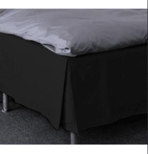 Romantisk sengetøj sort belæg