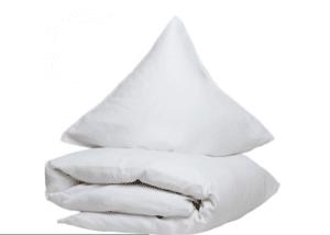 Romantisk sengetøj hvid smart