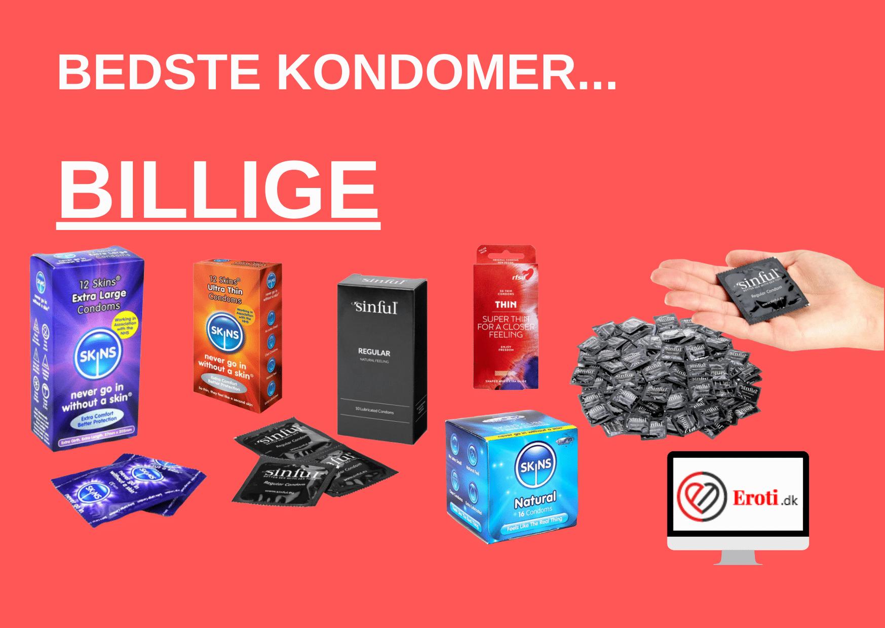 billige kondomer