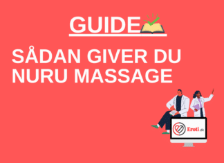sådan giver du nuru massage