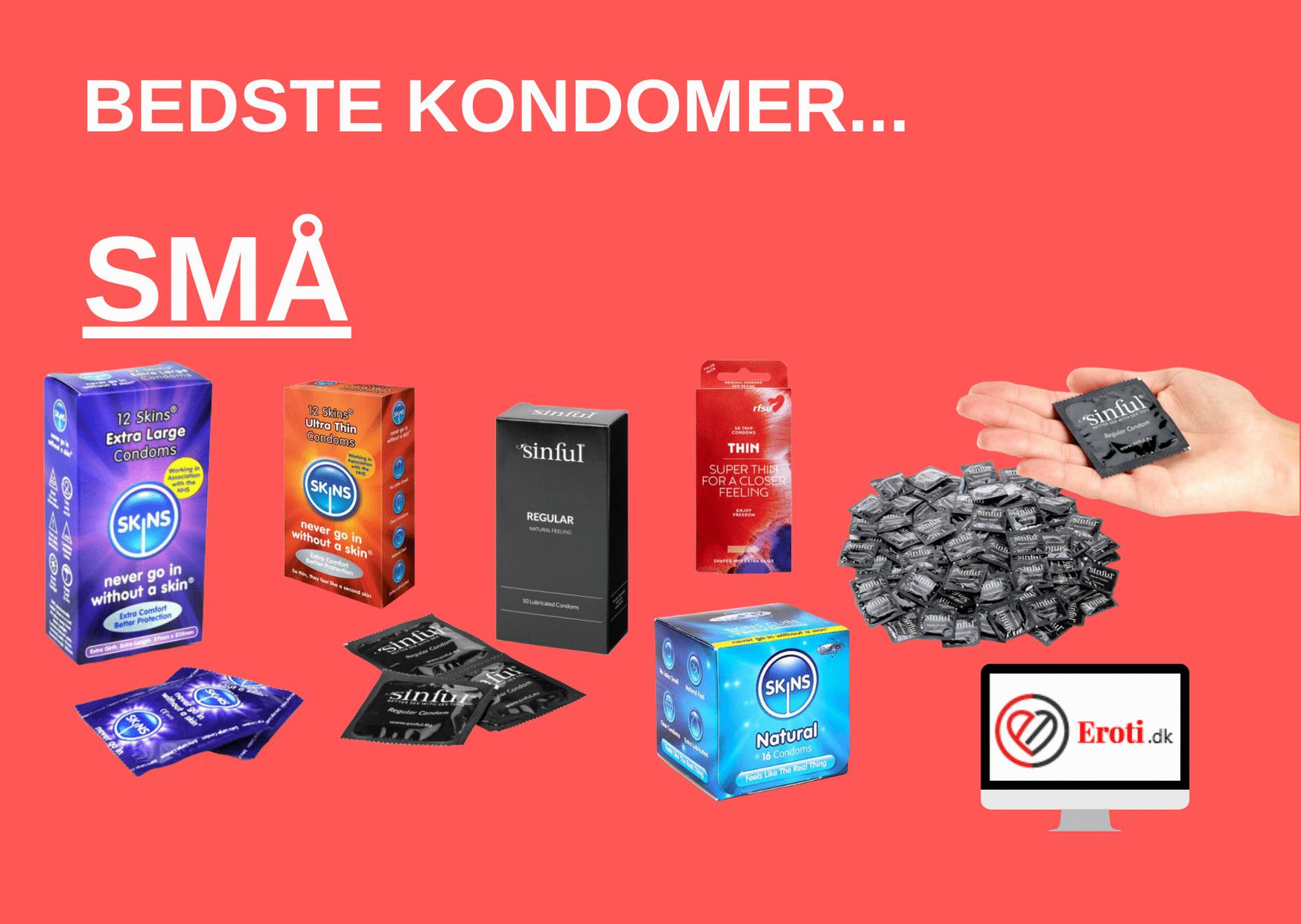 små kondomer
