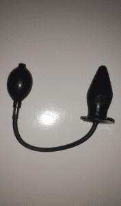Fanny Hill ButtPlug Oppustelig Med vibrationer