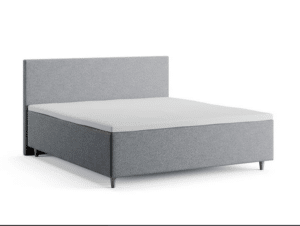 Romantisk seng grå