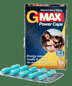 gmax power caps penis piller