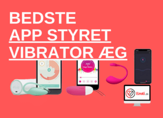 bedste app styret vibrator æg