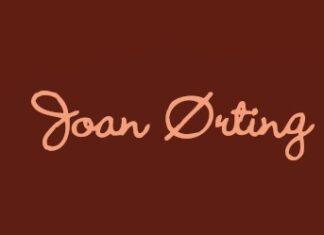 joan ørting massageolie logo