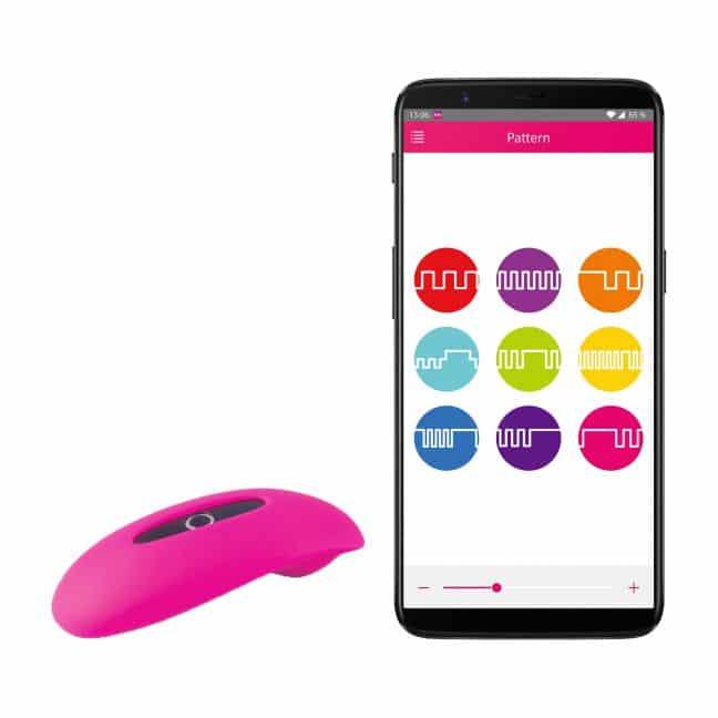 fjernbetjent vibrator magic motion candy klitoris