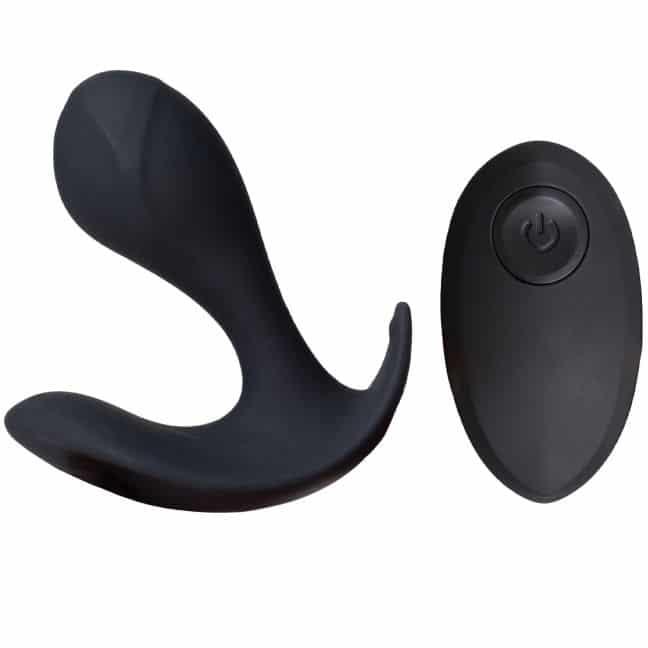 fjernbetjent vibrator sinful butt plug
